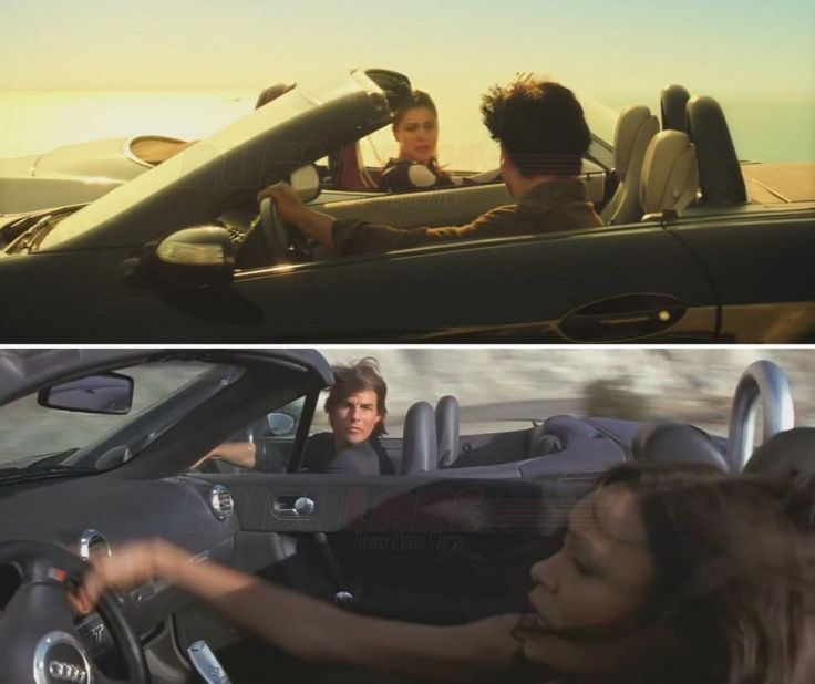 Dilwale Movie Car Stunt